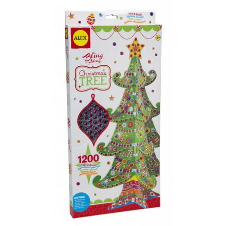Alex® Bling Along™ Christmas Tree 1201 pc Box (Christmas Arts And Crafts)