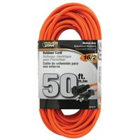 PowerZone Sjtw Extension Cord, 16 Awg, 50 Ft L