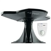 KING OA8501 Jack Directional Over-The-Air Antenna With Mount & Signal Meter - Black