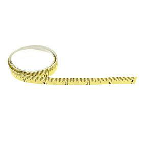 Peel Off Right to Left Self Stick On Tape Measure Rule