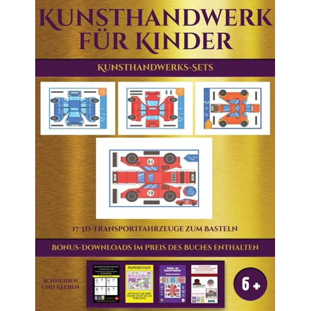 Carolyn Kinder Set - Kunsthandwerks-Sets  17 3d-Transportfahr