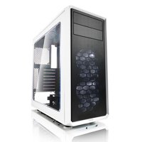 Fractal Design FD-CA-FOCUS-WT-W ATX Mid Tower Computer Case Chassis (White)