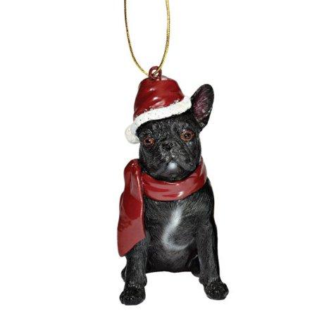 French Bulldog Christmas Ornament.Design Toscano Christmas Ornaments Xmas French Bulldog Holiday Dog Ornaments Christmas Decorations