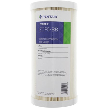 Pentek ECP5-BB Pleated Sediment Water Filters (9-3/4