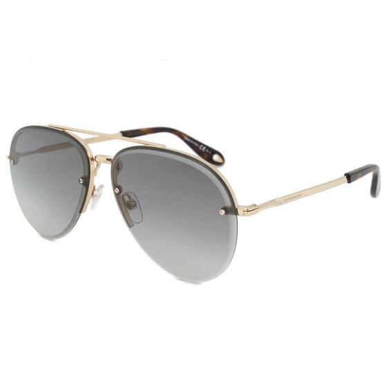 30ecc11144 Givenchy - Givenchy Aviator Sunglasses GV7075 S J5G 9O 62 - Walmart.com