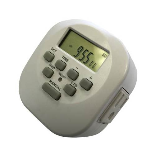 Programmable Plug-in Timer