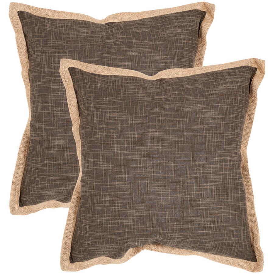 Safavieh Madeline Pillow, Multiple Color, Set of 2