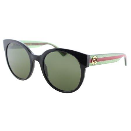 Gucci GG0035S 002 Women's Round Sunglasses