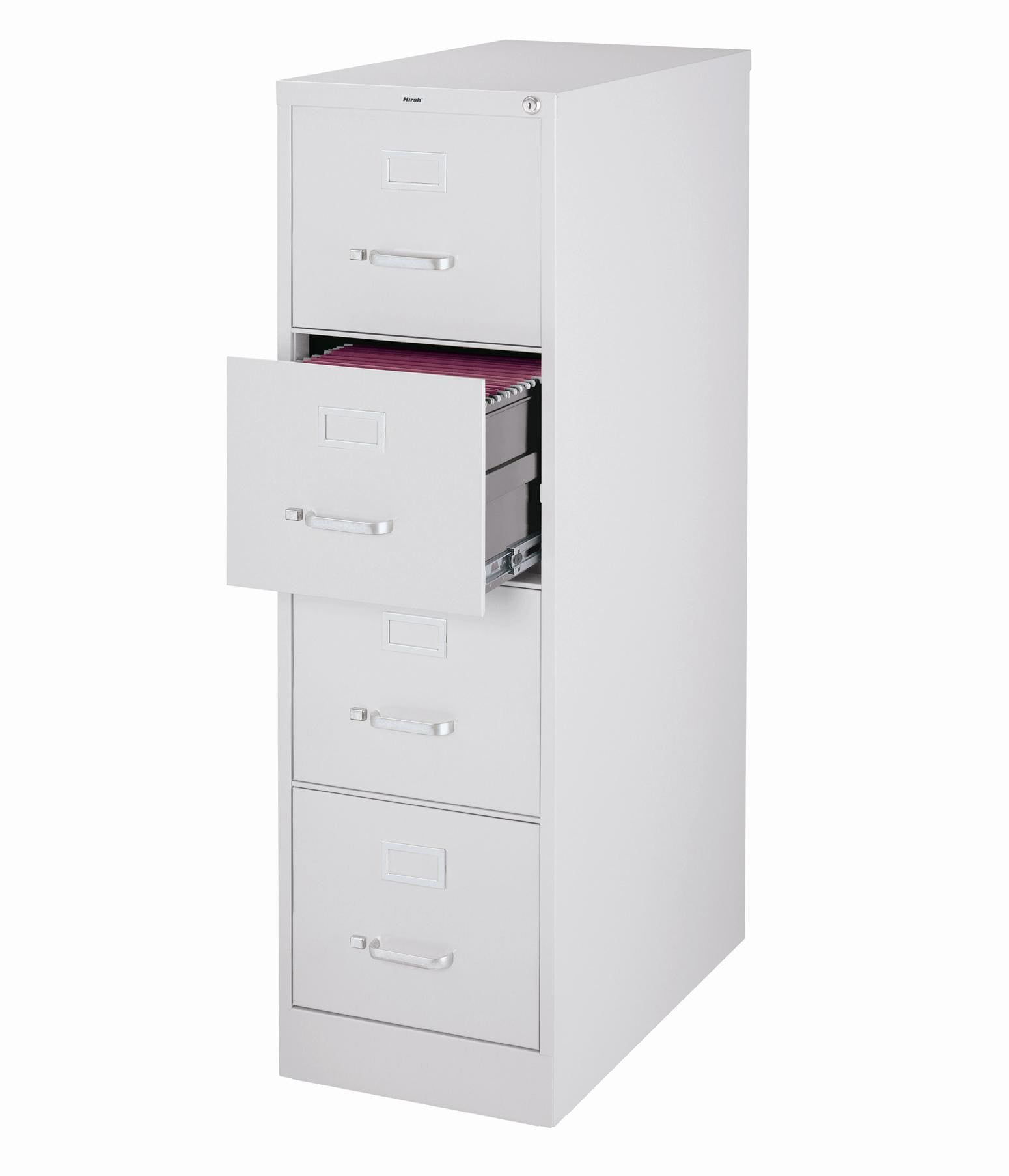 Image of: 3000 Series 26 5 Inch Deep 4 Drawer Letter Size Vertical File Cabinet Putty Walmart Com Walmart Com