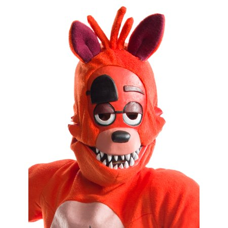 Five Nights At Freddys Childrens Foxy 3/4 Mask - Halloween Horror Nights Freddy Jason Leatherface