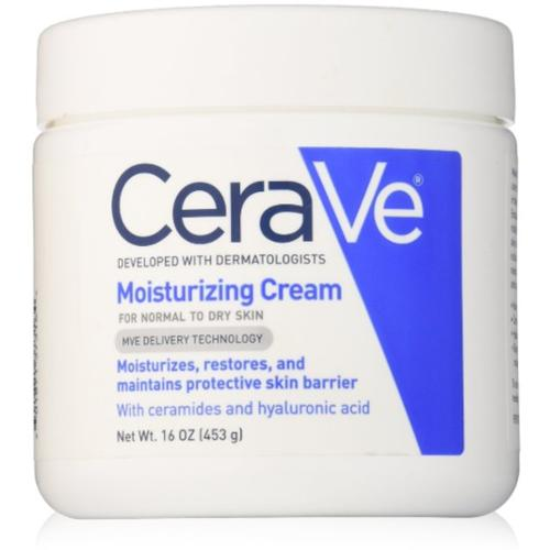 CeraVe Moisturizing Cream 16 oz (Pack of 2) by