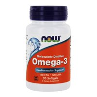 NOW Foods - Omega-3 Cardiovascular Support 180 EPA/120 DHA - 30 Softgels