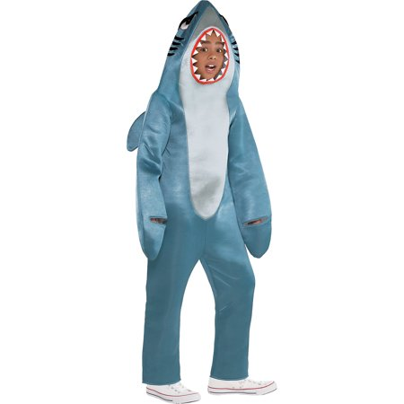 Suit Yourself Shark Halloween Costume for Boys - Chain Link Shark Suit