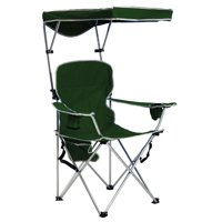 Quik Chair Full Size Shade Folding Chair - Forest Green