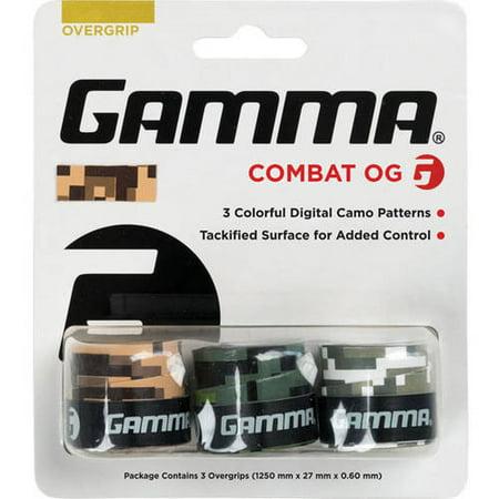 GAMMA Sports Combat Tennis Overgrip (Tennis Stringer)