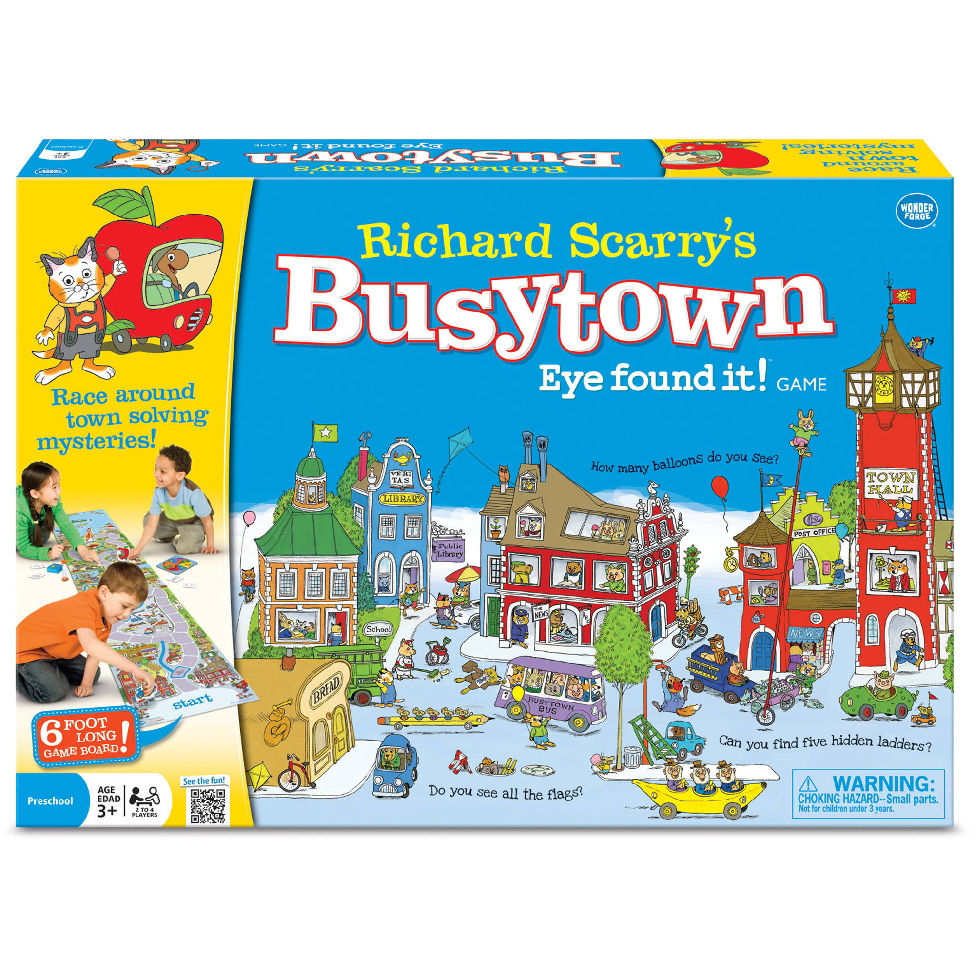 Preschool Activity With Richard Scarry's Busytown | Storytime ... | 2000x2000
