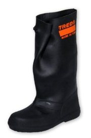 """TREDS 17855 Tough 17"""" Pull-On Stretch Rubber Overboots, Large/X-Large One Pair"""