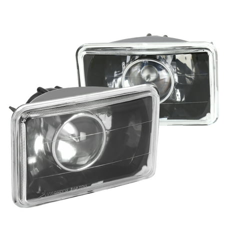 Spec-D Tuning 1995 1996 1997 Chevy S10 Blazer Black Projector Headlights 95 96 (Left + Right)