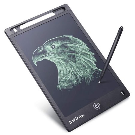 Infinix XWT02 LCD Hand Writing Tablet 10inch Writing Board Drawing Digital Handwriting Pads Tablet  Portable Electronic Graphic Board Eye Protection For Kid Home Office Xmas Christmas GIft Children ()