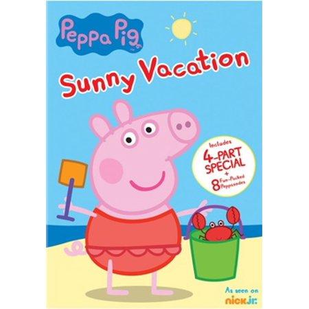 Peppa Pig: Sunny Vacation (DVD)](Halloween Peppa Pig Movies)