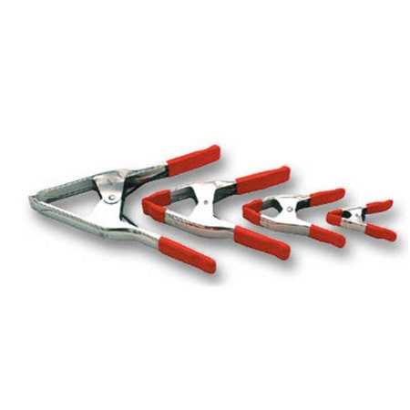 ACXM5 Bessey Spring Clamp Max Opening, 2.25 in. - Halloween Opening Hd