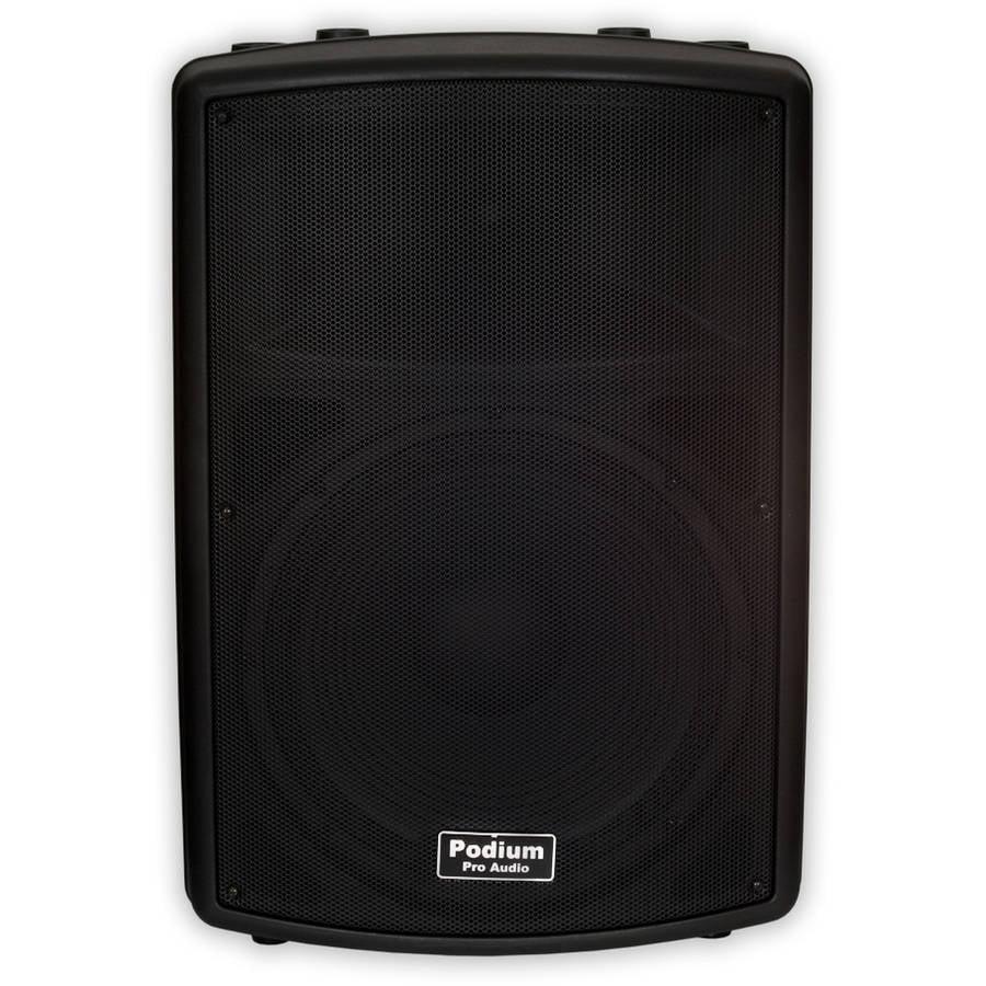 "Podium Pro PP1502A DJ PA Powered 900W Active 15"" Speaker Band Karaoke Home by Podium Pro Audio"