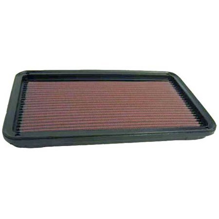 K & N Filters 33-2145-1 Air Filter FilterCharger (R) Washable; Red; Cotton Gauze; Panel; 12-1/8 Inch Length x 7-1/4 Inch Width x 1-1/8 Inch Height - image 1 of 2
