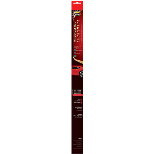"Gila 24"" x 78"" Ultra Shield Max Peel-and-Cling Auto Tint"