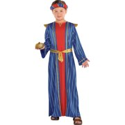 Amscan Gaspar Wise Man Christmas and Halloween Costume for Boys, Small, with Robe and Crown