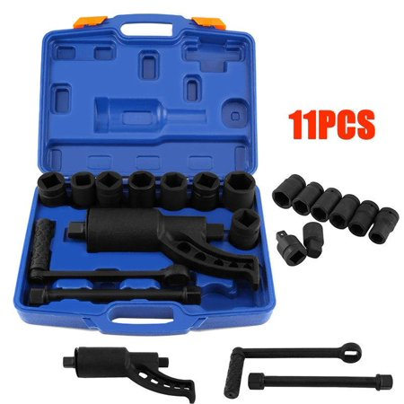 VBESTLIFE Heavy Duty Multiplier Wheel Lug Nut Wrench Lugnuts Remover Labor Saving With 8 Socket, Multiplier Set, Lug Nut Wrench