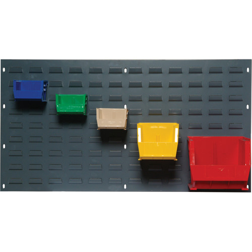 Quantum Storage Large Louvered Panels with Bins (Complete Package)