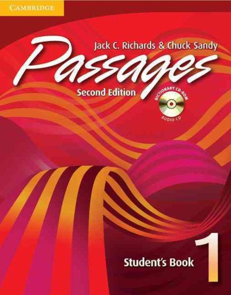 Passages Students Book 1 With Audio Cd/cd-rom