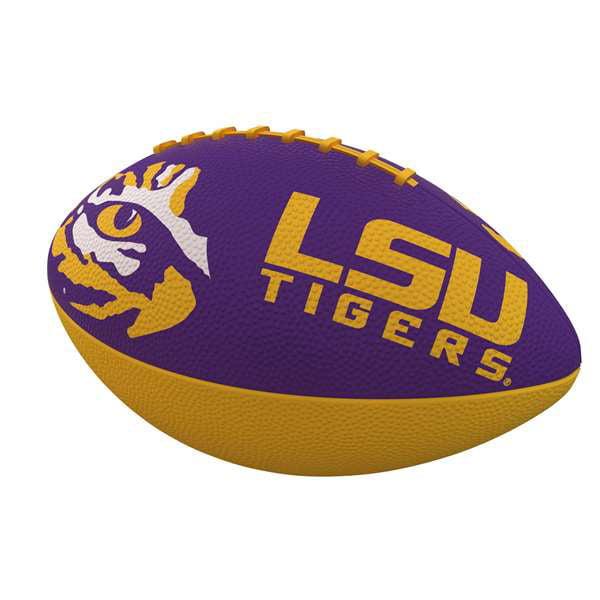 LSU Louisiana State University Combo Logo Junior-Size Rubber Football