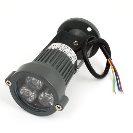 AC85-245V 3W Pure White Waterproof Garden Landscaping Spotlight Flood Lamp - image 4 of 4