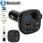 Wireless Car FM Transmitter Wireless Radio Adapter USB Charger Mp3 Player