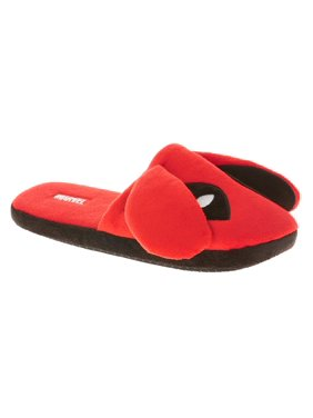 6618e3894bac Product Image Men s Deadpool Scuff Slipper with 3D Ears