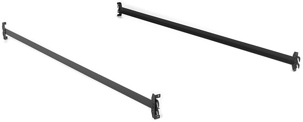 Steel Bed Side Rails with HookOn Claws 76 Long for Twin amp