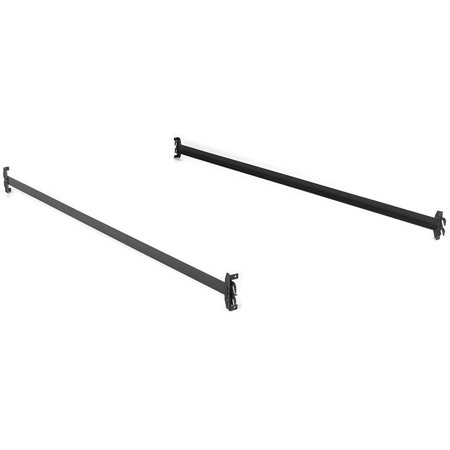 Steel Bed Side Rails With Hook On Claws 76 Quot Long For Twin