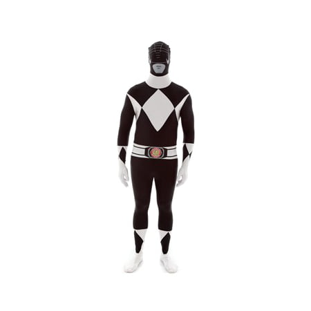 Black Power Rangers Morphsuit Costume - Halloween Morphsuit Prank