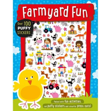 Farmyard Fun Puffy Sticker Book