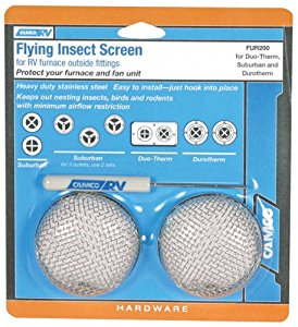 Camco Flying Insect Screen, FUR200, Suburban, DuoTherm, 2-Pack