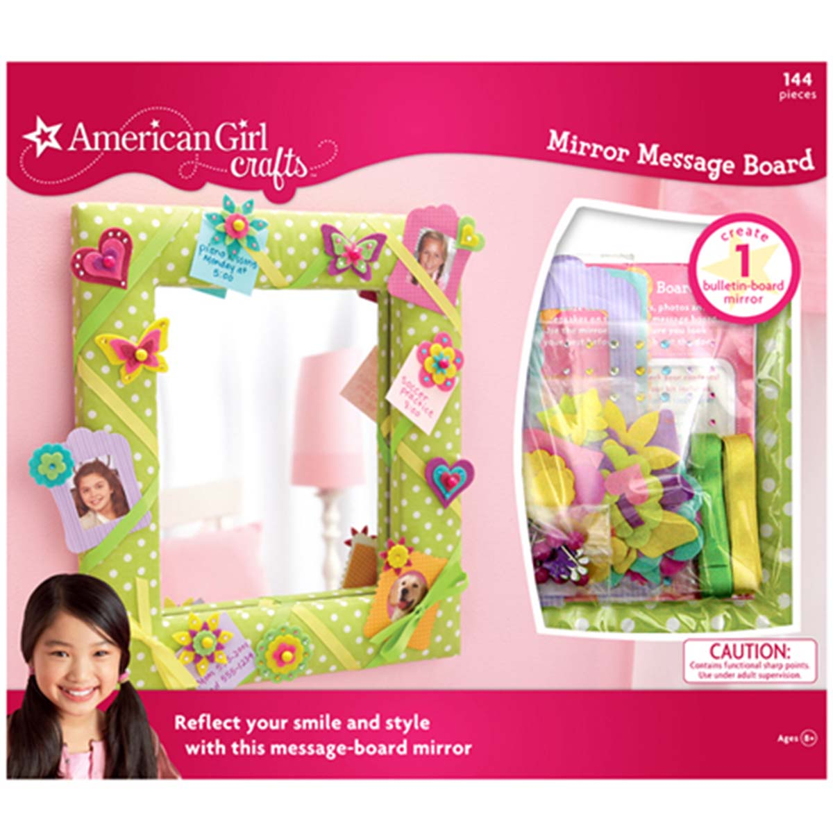 American Girl Crafts Mirror Message Board Kit by AMERICAN GIRL CRAFTS