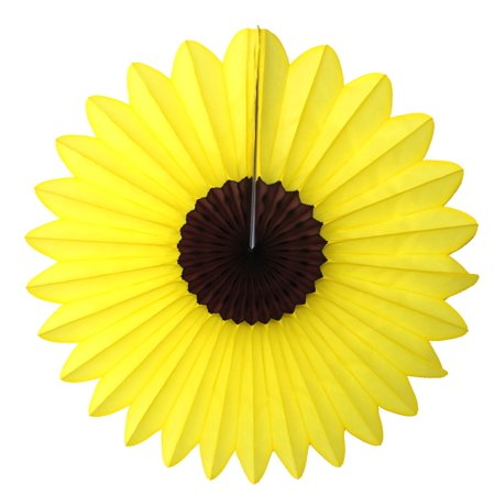 Sunflower Themed Party (3-pack Devra Party 18 Inch Tissue Paper Sunflower)