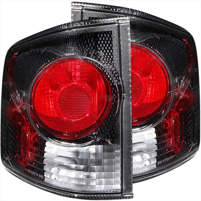 ANZO 211033 Tail Lights 3D Style Carbon