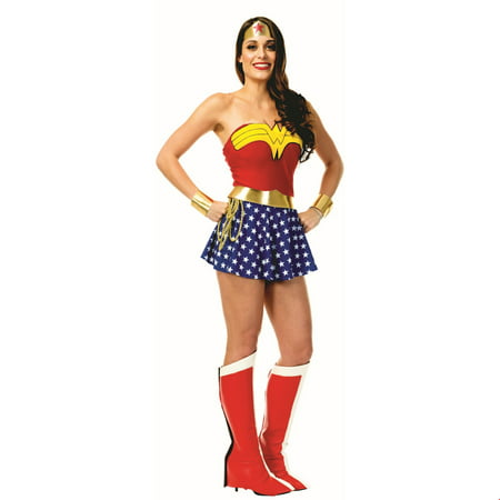 Womens Wonder Woman Halloween Costume](Wonder Woman Adult Costume)