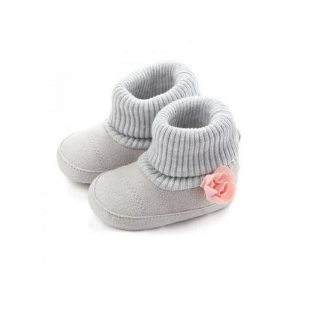 Newborn Toddler Baby Autumn Soft Sole Crib Anti-slip Shoes Pre - Pit Pre Shoes