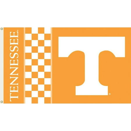 Tennessee Volunteers Checkered 3'x5' Flag (Checkered Flag Emoji)