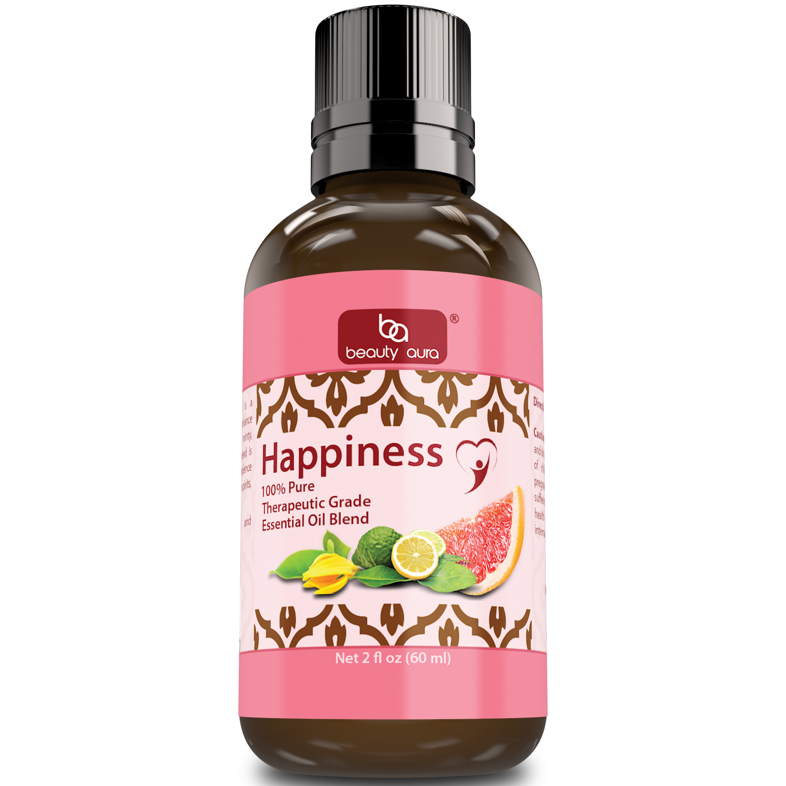 Beauty Aura Happiness Essential Oil Blend (2 Oz.)