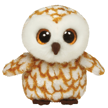 Ty Beanie Boos Swoops Owl Medium](Owl Media)