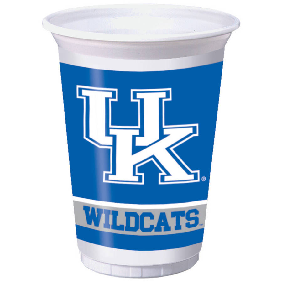 Kentucky Wildcats Cups, 8-Pack